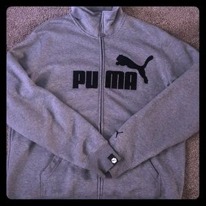 Men's Puma zip up size XL